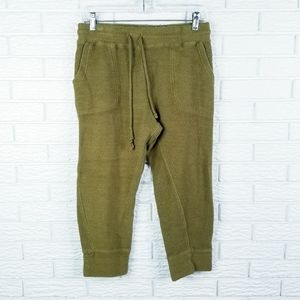 Intimately Free People Cropped Joggers S Olive